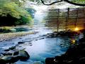 湯ヶ島温泉 湯本館 野天風呂