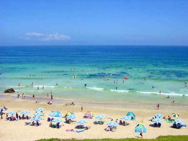 海水 浴場 大浜 白浜