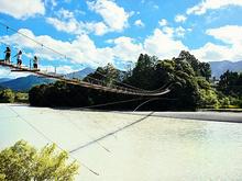 塩郷の吊橋(恋金橋)
